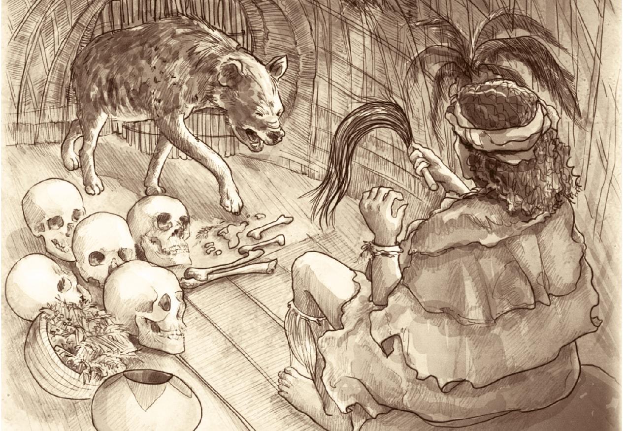 Mzilikazi's cruel great-grandmother met a gruesome fate.